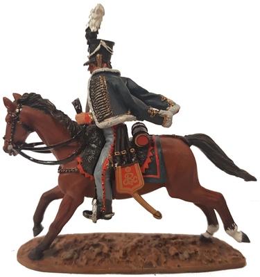 Oficial, Cazador a Caballo de la Guardia, 1809, 1:30, Del Prado