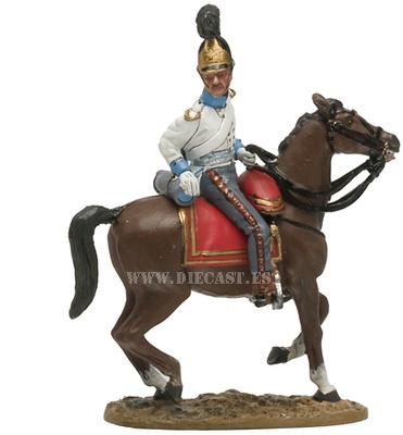 Oficial, Regimiento Bandenburgo, 1813, 1:30, Del Prado, 1:30, Del Prado