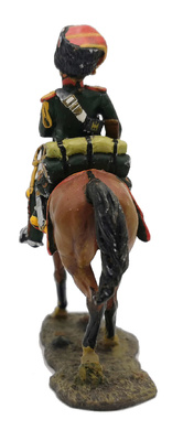 Oficial ,Cazadores a Caballo de la Guardia, 1809 1:30, Del Prado