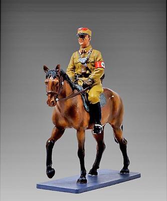 Oficial a caballo SA, Berlín, 1938, 1:30, Thomas Gunn