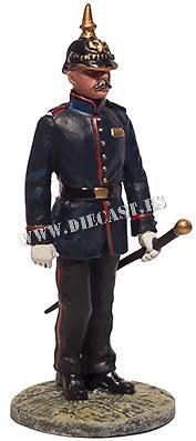 Oficial bombero con traje de gala, Alemania, Siglo XIX, 1:30, Del Prado