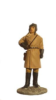 Oficial con uniforme de invierno, Ejército Soviético, 1941-1945, 1:32, Eaglemoss