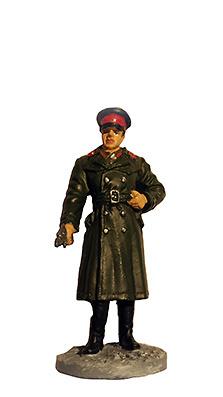 Oficial con uniforme invernal de campaña, Ejército Soviético, 1941-1945, 1:32, Eaglemoss