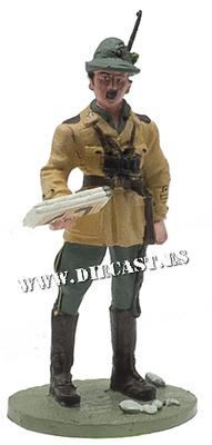 Oficial de Artillería Alpina, 1941, 1:30, Del Prado