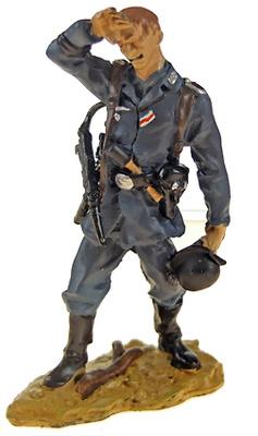 Oficial de la Luftwaffe, división Hermann Goering, 1943, 1:30, Hobby & Work