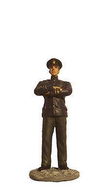 Oficial de la Marina con uniforme de diario, Ejército Soviético, 1942-1943, 1:32, Eaglemoss