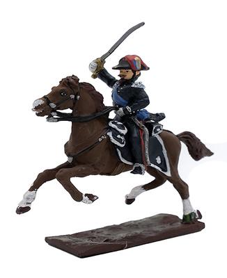 Oficial de los Carabinieri a caballo, Batalla de Pastrengo, 30 Abril, 1848, 1:32, Leo Models