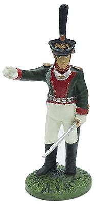 Oficial del Rgto. Litovsky con uniforme de verano, 1812, 1:32, Eaglemoss