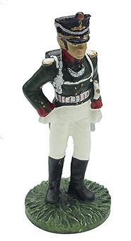 Oficial del Rgto. de Infantería de Moscú con uniforme de gala, 1812, 1:32, Eaglemoss
