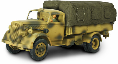 Opel Kfz Cargo Truck, 1:32, Forces of Valor