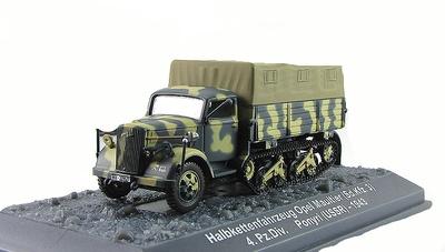 Opel Maultier (Sd.Kfz.3) 4.Pz.Div. Ponyri (USSR) 1943, 1:72, Altaya