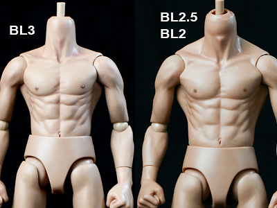 Original Action Body BL-2.0, 1:6, Enterbay