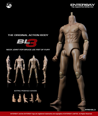 Original Action Body BL-3, 1:6, Enterbay
