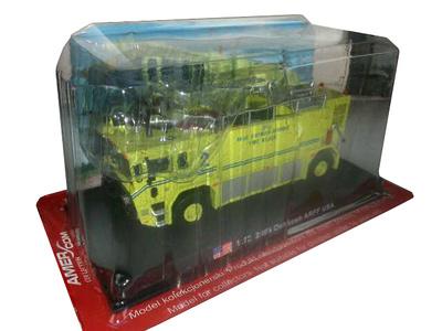 Oshkosh, camión de bomberos de aeropuerto, 1:72, Amercom