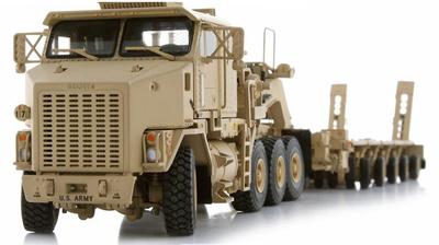Oshkosk, Het M1070 w/M1000 Trailer, Sand, 1:50, Sword Models