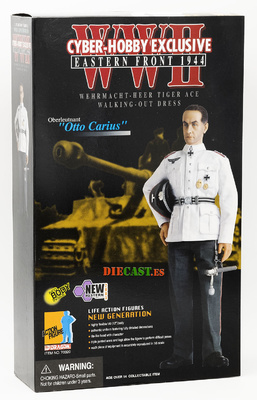 """Otto Carius"" Wehrmacht-Heer Tiger Aces, Eastern Front, 1944, 1:6, Dragon Figures"