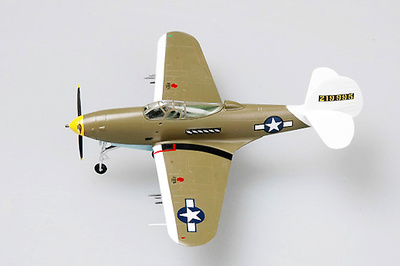 P-39, USAAF P-39Q, Lt. Col. William Shomo, 71st trs/82nd TRG. 1944, 1:72, Easy Model
