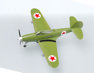 P-39N, Major V.F. Sirotin, Soviet Air Force, 1944, 1:72, Easy Model