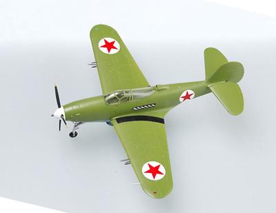 P-39N, Major V.F. Sirotin, Soviet Air Force, 1944, 1:72, Easy Model