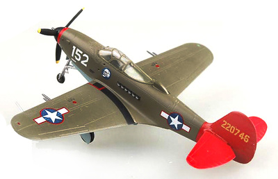 "P-39Q Airacobra ""Red Tails"", 1:72, Easy Model"