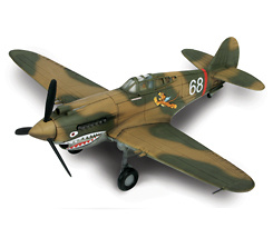 P-40, U.S., China, 1942, 1:72, Forces of Valor