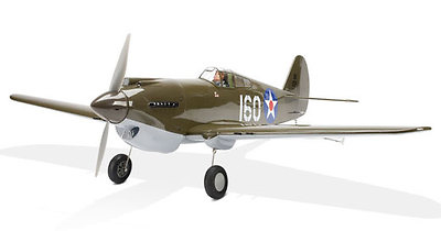 P-40B Warhawk, 1:90, Model Power
