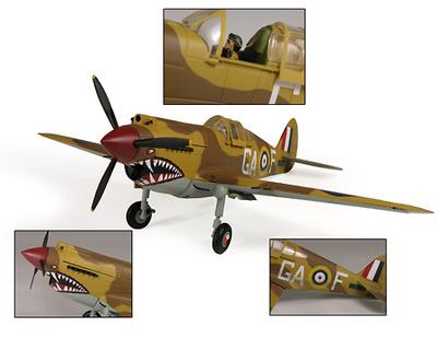 "P-40B Warhawk USAAF ""Flg. Off. Neville Duke"", 1:32, 21st Century Toys"