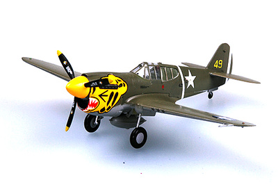 P-40E Tomahawk 11FS 343FG, 1942, 1:72, Easy Model