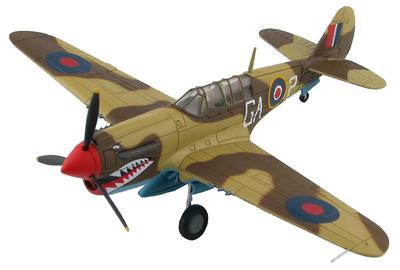 P-40N Kittyhawk FX-760, 112 Squadron, RAF, 1944, 1:72, Hobby Master