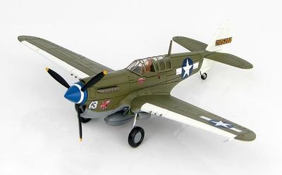 "P-40N ""Rita/Orchid 13"" 2105202, Cap. Robert DeHaven, 7th FS, 49th FG, Agosto, 1943, 1:72, Hobby Master"