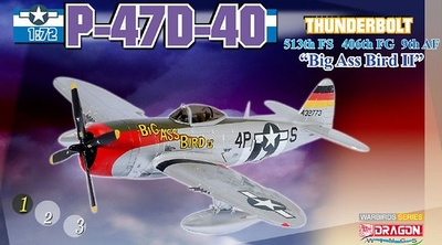 "P-47D-40-RA Thunderbolt ""Big Ass Bird II"", 1:72, Dragon Wings"