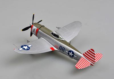 P-47D 52FS, 86FG, 1:48, Easy Model