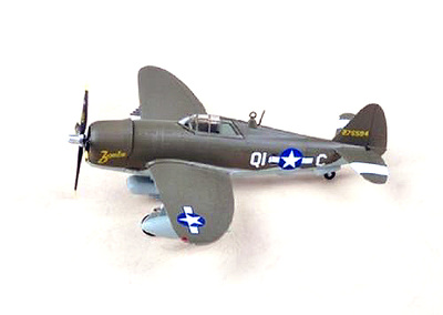 P-47D Razorback, 361FS, 356FG, 5th, 1945, 1:72, Easy Model