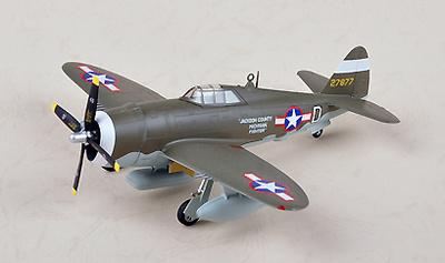 P-47D Razorback, 56th FG,8th AF, USAAF, D(42-7877), 1:72, Easy Model