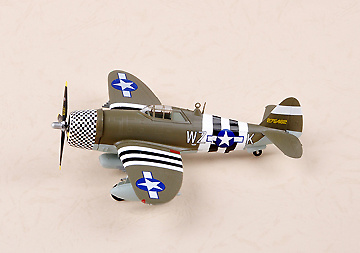 P-47D Razorback, USAAF 78th FG-WZ-K, 1:72, Easy Model