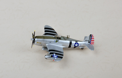 P-47D Razorback, William D. Dunham, Pacífico, 1943, 1:72, Easy Model