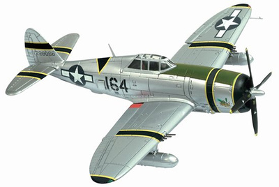 "P-47D Razorback ""The Turnip Termites"", 47th Fighter Squadron, 15th FG, 1:72, Dragon Wings"