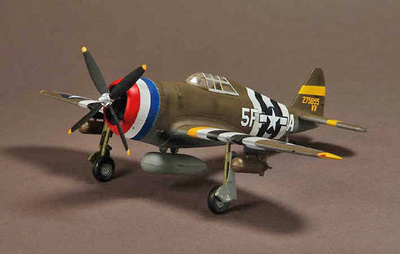 P-47D Republic,  5th Emergency Rescue Squad, England, 1944, 1:72, War Master