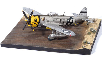 P-47D Thunderbolt, Major Glenn Eagleston, 353rd FS 354th FG, 1:72, Dragon Wings