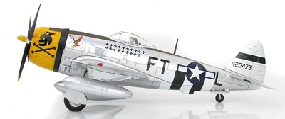 P-47D Thunderbolt, Mayor Glenn Eagleston, 353rd FS/354th FG, Francia, 1944, 1:48. Hobby Master