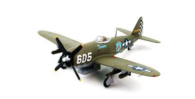 "P-47D Thunderbolt 226785 ""OH JOHNNIE"", 1st Lt. Raymond Knight 346th FS/350th FG, Pisa, Italy, 1945, 1:48. Hobby Master"