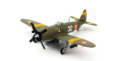 P-47D Thunderbolt 419698, French GCII/5 'Lafayette', Amberieu, France 1944, 1:48. Hobby Master