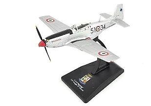 P-51 K Mustang 155th Gruppo 51st Stormo, Aviación Militar Italiana, 1:100, RCS Libri