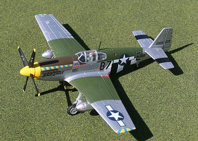 "P-51B Mustang, ""Bald Eagle"", 1:72, Gemini Aces"