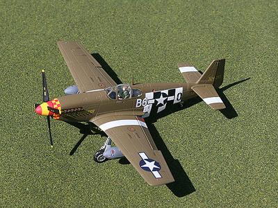 """P-51B Mustang, """"Berlin Express"""", 1:72, Gemini Aces"""