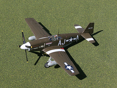 "P-51B Mustang, ""Ding Hao"", 1:72, Gemini Aces"