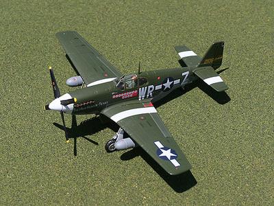 "P-51B Mustang, ""Hun Hunter"", 1:72, Gemini Aces"