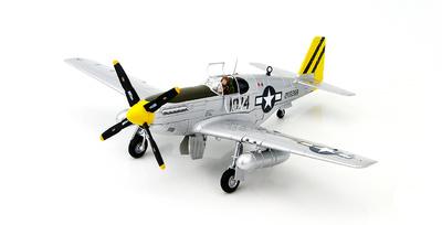 P-51B Mustang, Lt. Leonard R. Reeves, 530th FS/311th FG  Pungchacheng, Jan 1945, 1:48, Hobby Master
