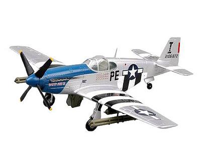 P-51B Mustang, Patty ann ll (42-106872) Teniente John F. Thornell Jr., 1:72, Easy Model