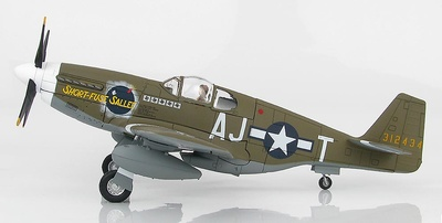 "P-51B Mustang 43-12434 ""Short-Fuse Sallee"", 356th FS, 354th FG, 9th AF, 1944, 1:48, Hobby Master"